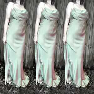 Iridescent Chiffon Gown